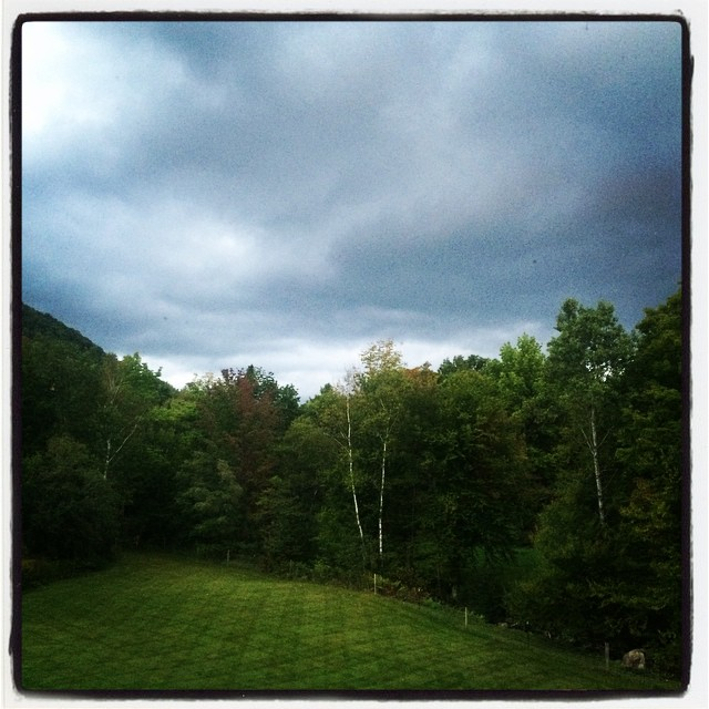 vermont fall skies